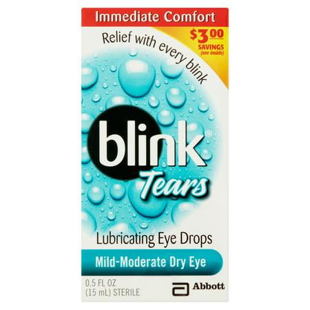 Larmes gouttes de lubrification des yeux 05 onces liquides