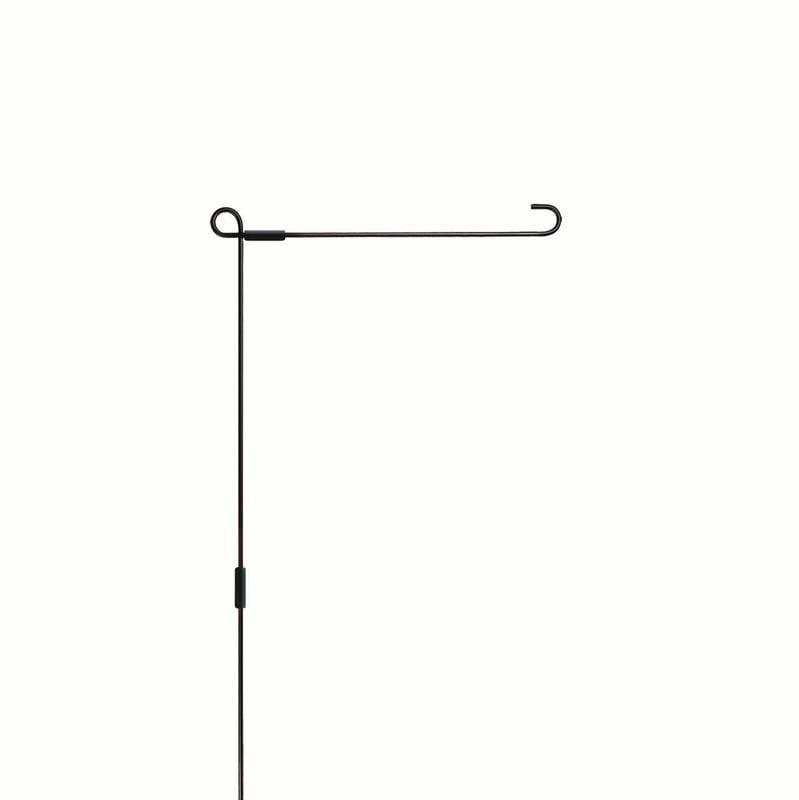 Lang Garden Flag Pole, Black
