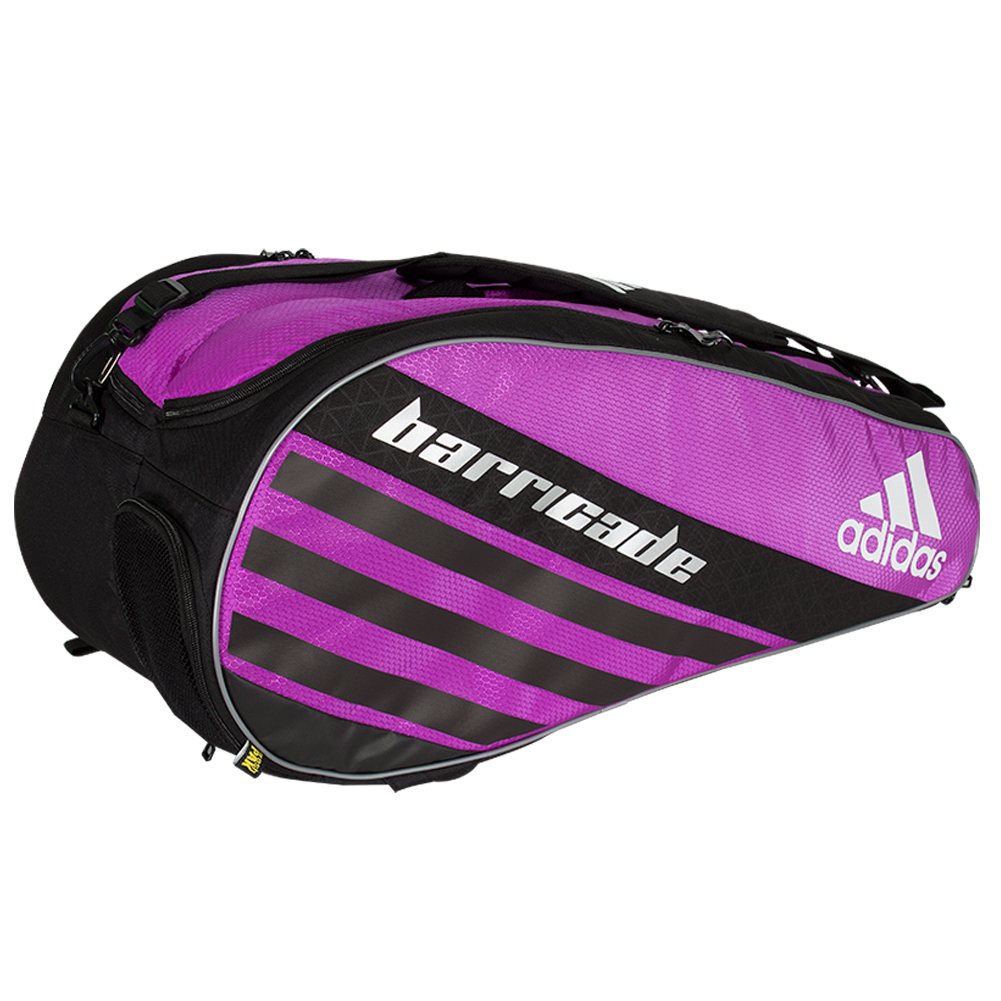 Adidas Barricade IV Tour 6 Pack Tennis Bag Flash Pink and...