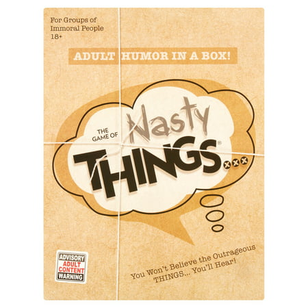 Game of Things Nasty Things… Board Game - Halloween Drinking Games 2017