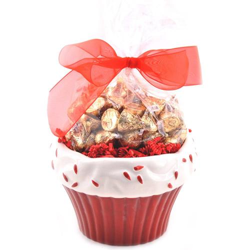 Sweets in Bloom Valentine's Red Velvet Cupcake Gift Set
