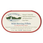 Bar Harbor Wild Herring Fillets In Cabernet Wine Sauce, 6.7 oz