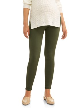 f807261dd3a Product Image Maternity Full Panel Skinny Boyfriend Pant w  5 Pockets --  Available in Plus Sizes