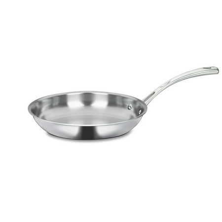 "Cuisinart French Classic Tri-Ply Stainless 10"" Fry Pan, 1.0 CT"