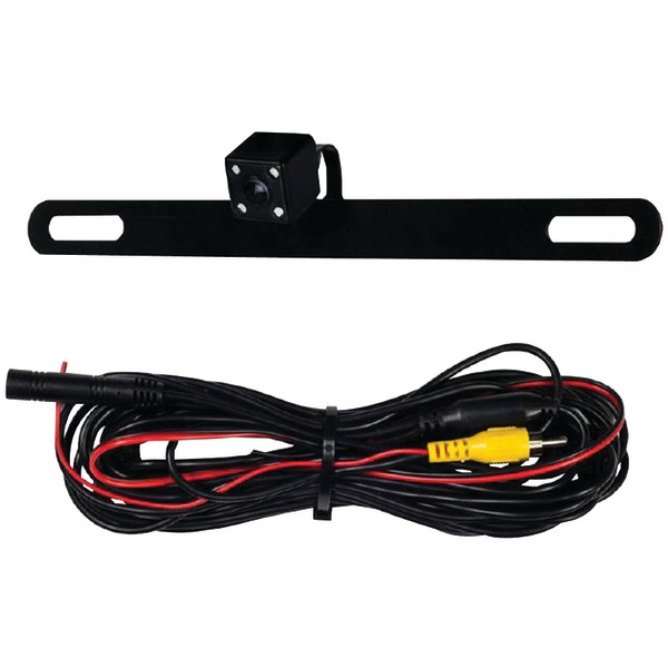 iBEAM Vehicle Safety Systems TE-BPCIR Behind License Plate Camera with IR LEDs - image 1 of 1