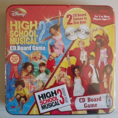 2 & 3 CD Board Games - 2 CD Board Games in One Box!, Board Game 3 - CD's By High School Musical](Halloween Musical Games)
