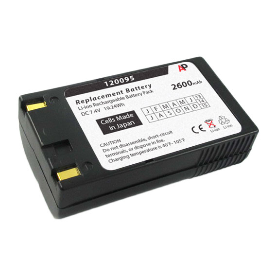 Avery Dennison   Paxar   Monarch 120095 Printer: Replacement Battery. 2600 mAh by Artisan Power