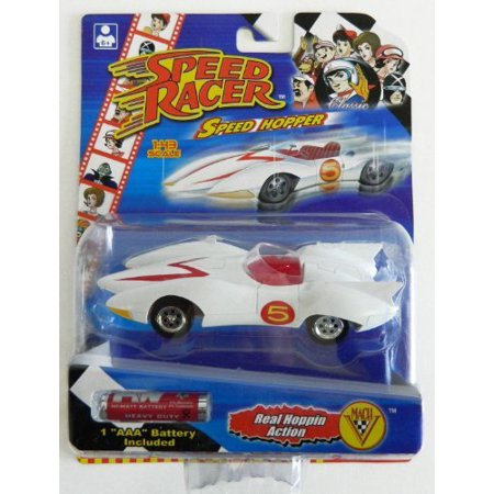 SPEED RACER, SPEED HOPPER MACH 5 Car w/batteries - image 1 of 1