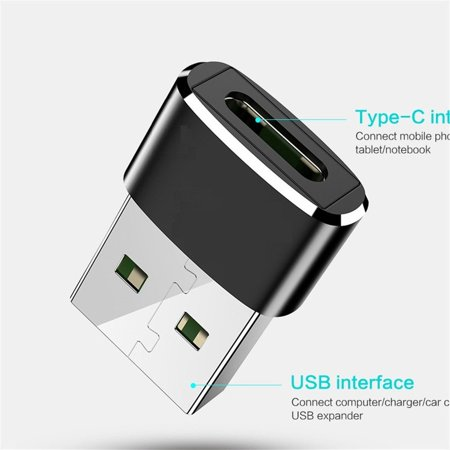 Adapter Usb 3.0 Male To Female Type C Otg Usb3.0 A Adapter Usb C Converter - image 8 of 8