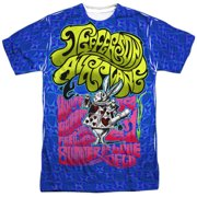 Jefferson Airplane White Rabbit (Front Back Print) Mens Sublimation Shirt