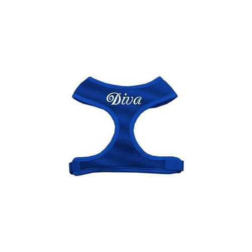 Diva Design Soft Mesh Harnesses Blue Large