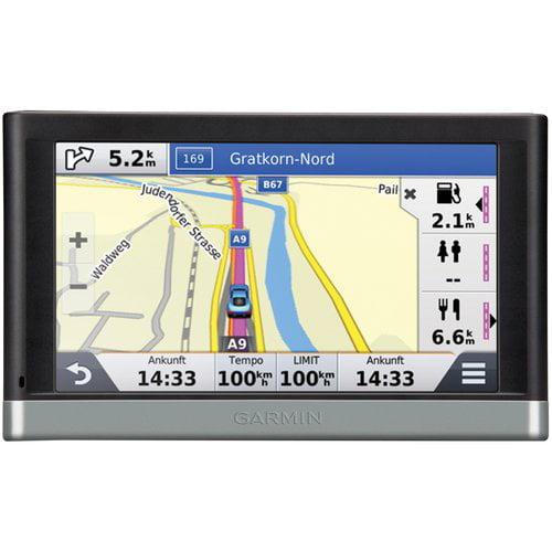 "Refurbished Garmin Nuvi2557LMT 5"" GPS with Lifetime Maps & Traffic Updates"