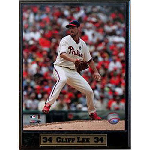 MLB Cliff Lee Photo Plaque, 9x12