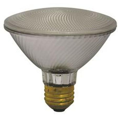 Sylvania Halogen Flood Lamp, Par30, 50 Watts, 120 Volts, Medium Base, 25 Deg. Beam, 10 Per (Frosted Flood Halogen Lamp)