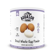 Augason Farms Dried Whole Egg Powder Certified Gluten Free No. 10 Can