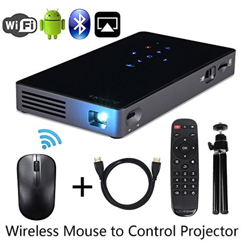 Portable Mini DLP LED Projector Multimedia Pocket Project...