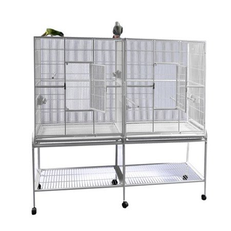 A and E Cage Co. Double Flight Bird Cage 16421