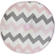 My Baby Sam Chevron Pink/gray Throw Pill