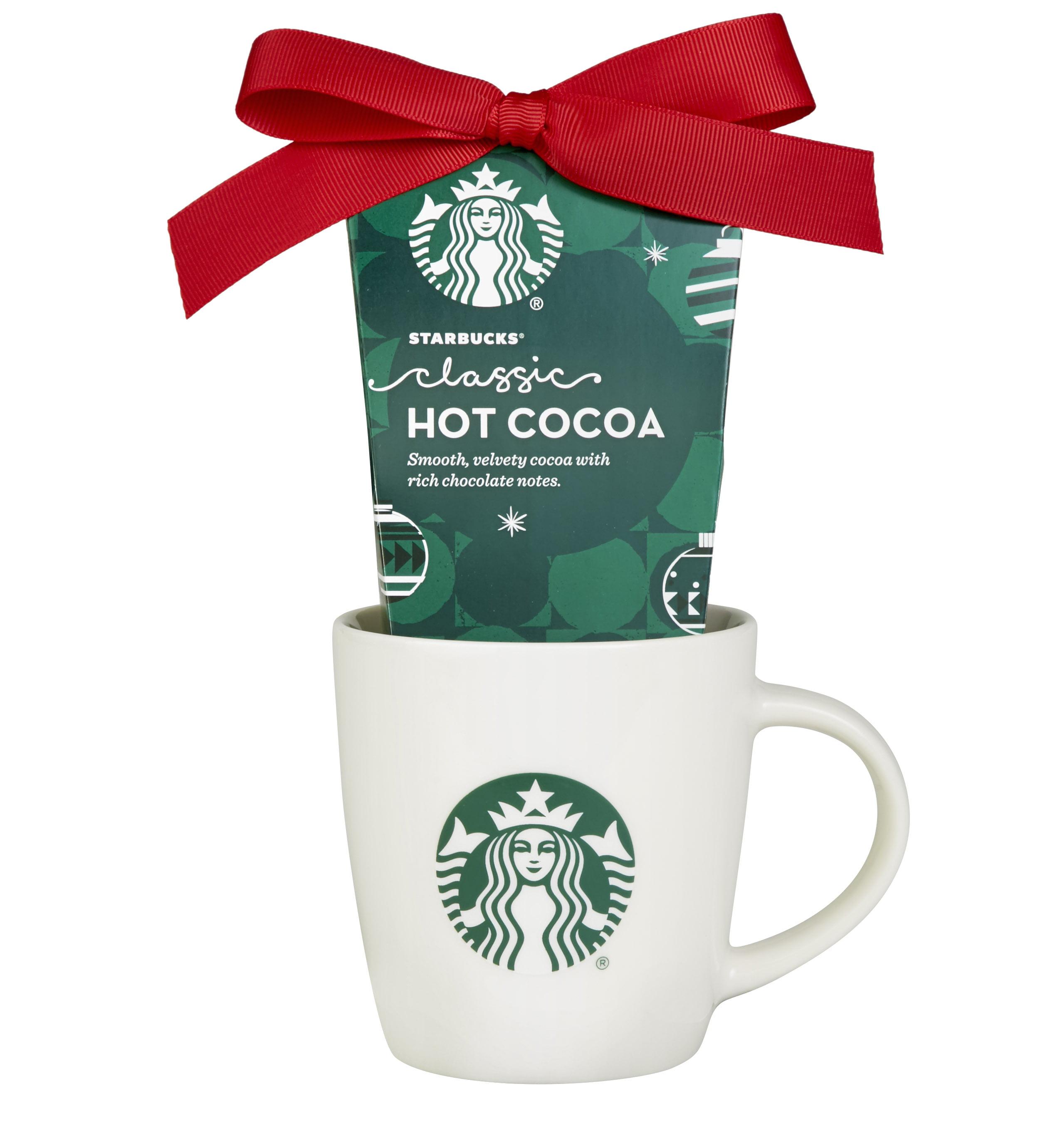 Starbucks Hot Cocoa Christmas Holiday Tea Coffee Mug Gift Set