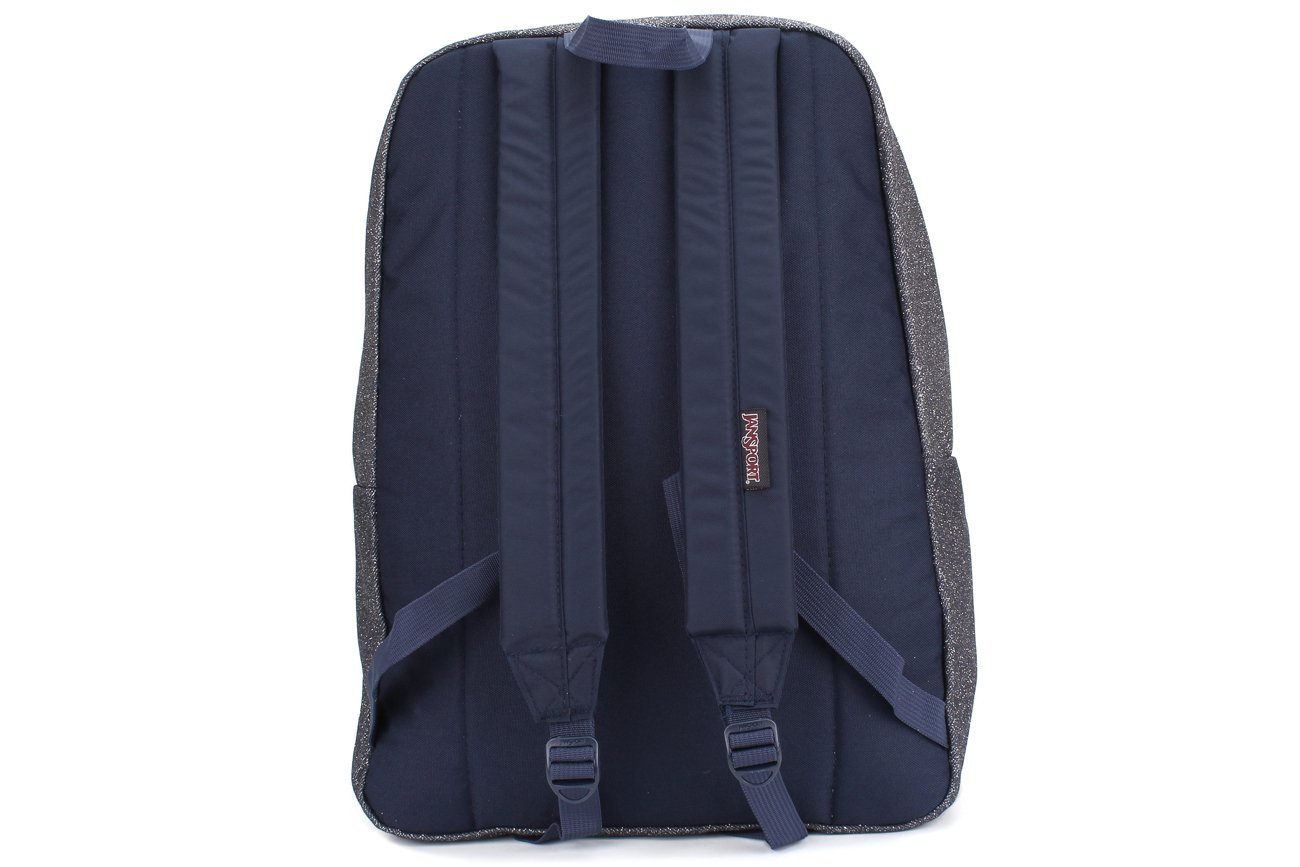 JanSport Super FX Series Backpack Silver Sparkle Twill