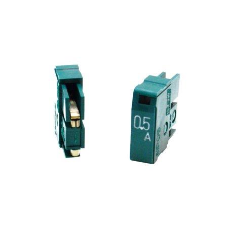 MP05 Genuine Daito 0.5A 125V PLUG-IN Dark Green Fast Acting Alarm Fuse LOT OF 8 Adapters - VGA Hdmi DVI DP RCA & S-Video