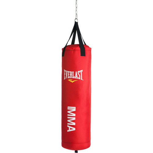 Everlast MMA Polycanvas 70-Pound Heavy Bag, Red - Walmart.com