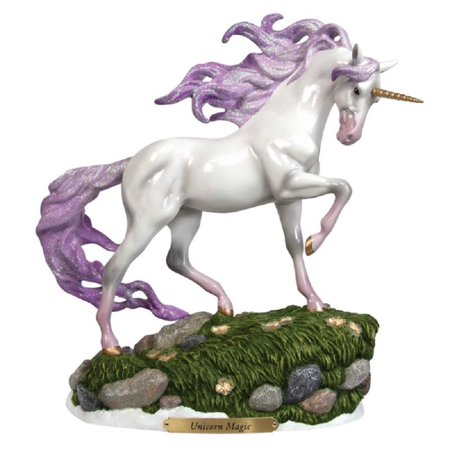 The Trail of Painted Ponies Unicorn Magic Lighted Pony Horse Figurine - Light Up Horse