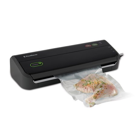 FoodSaver FM2000 Vacuum Sealer System with Starter Bag, Roll Set and Dishwasher Safe Drip Tray (New Open (The Foodsaver Fm2000 Vacuum Sealer Fm2000 000)