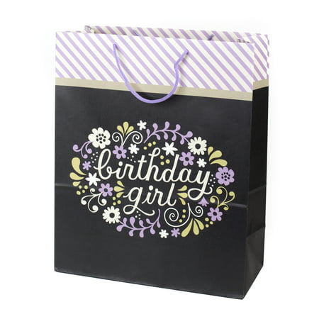 Birthday Monkey Gift - Hallmark Extra Large Birthday Gift Bag (Birthday Girl)