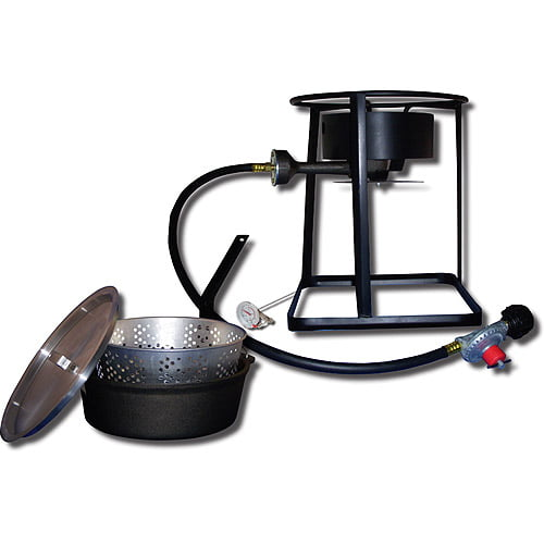 "King Kooker 16"" Portable Gas Outdoor Cooker Package with Cast Iron Dutch Oven by King Kooker"