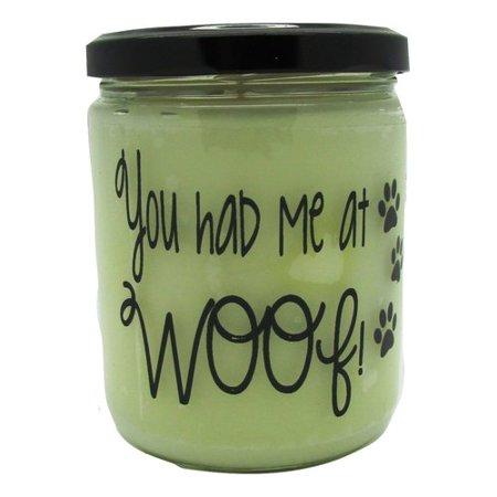 """Star Hollow Candle Company """"You Had Me at Woof"""" Orange Clove Jar Candle"""