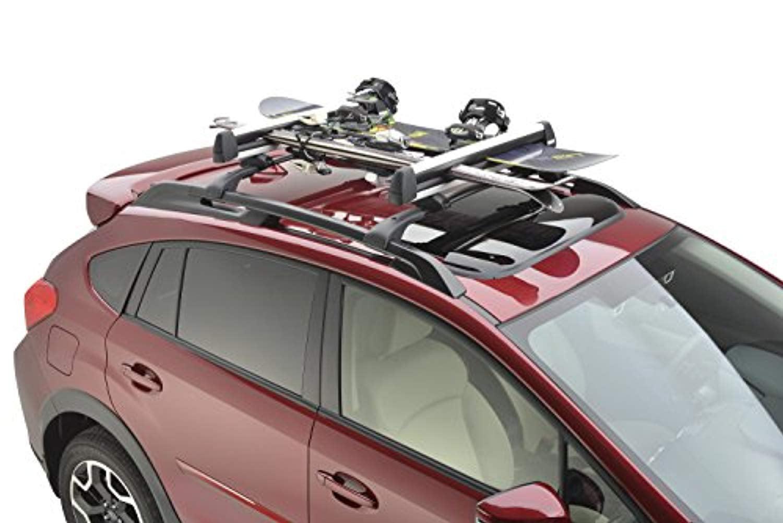 Subaru SOA567S010 Thule Ski & Snowboard Carrier, 1 Pack by