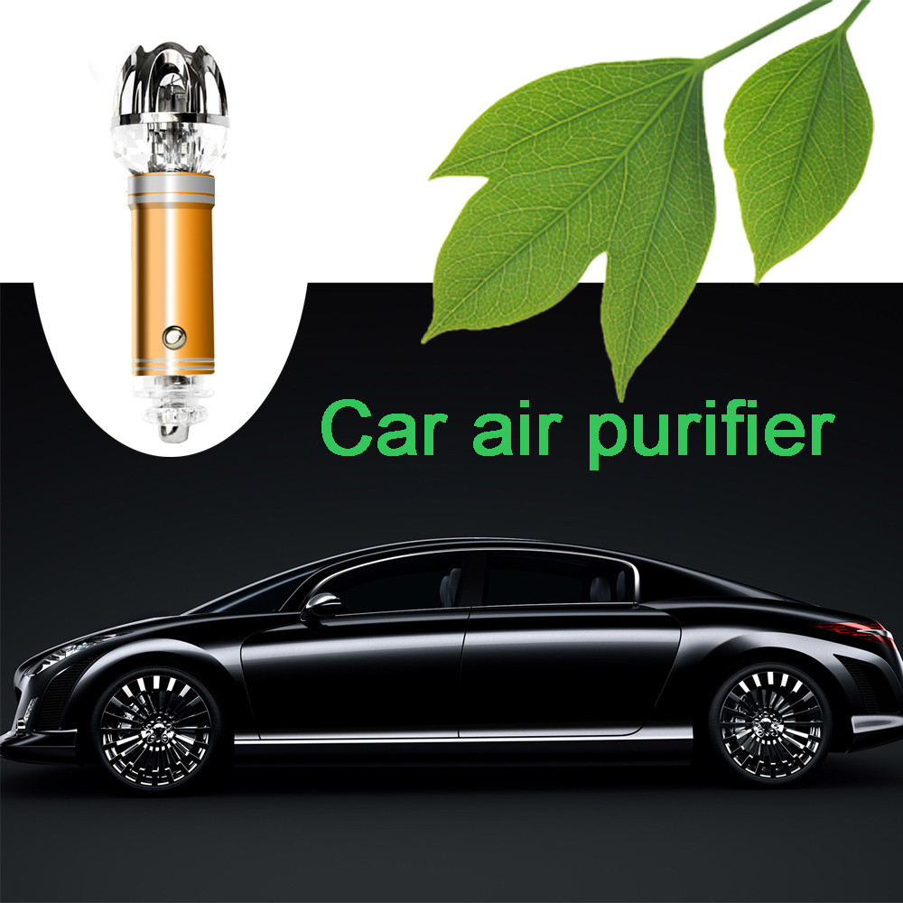 Universal Auto Car Fresh Air Ionic Purifier Oxygen Bar Ozone Ionizer Cleaner SC