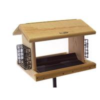 Birds Choice 11 qt. Cedar Hopper Bird Feeder