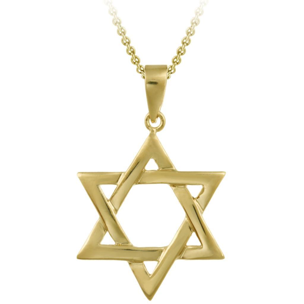 mondevio gold over sterling silver star of david necklace walmart com rh walmart com A Hand with the Star of David Clip Art Super Star Clip Art