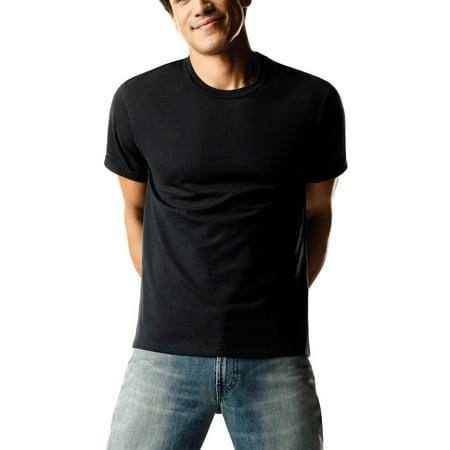 Men's FreshIQ ComfortSoft Dyed Crew Neck T-Shirt 4-Pack