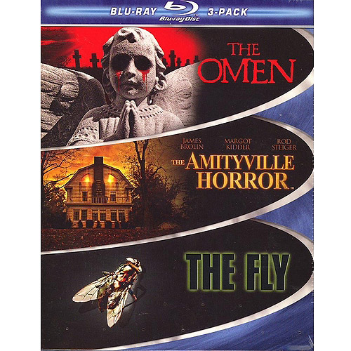The Omen (1976) / The Amityville Horror (1979) / The Fly (1986) (Blu-ray) (Widescreen)