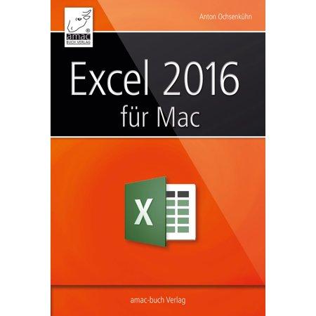 Excel 2016 für Mac - eBook