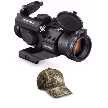Vortex StrikeFire II Red Dot Riflescope with Cantilever Mount and Red Dot Bundle