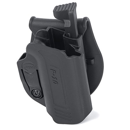 Orpaz OWB Holster for CZ P10c Holster (Thumb Release, Paddle Holster)