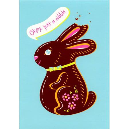 - Designer Greetings Chocolate Bunny Easter Card