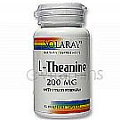 L-Theanine 200 mg 200 mg By Solaray - 45  Vegetable
