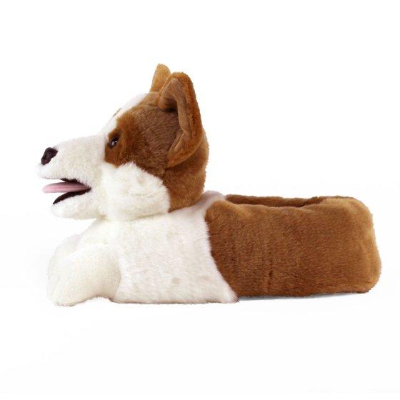872db9961971 AnimalSlippers.com - Corgi Slippers - Plush Dog Slippers - One Size ...