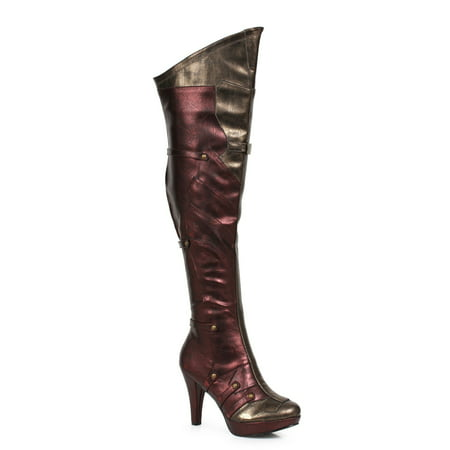 Women's Thigh High Boots - Red Thigh High Boots For Halloween