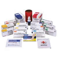 First Aid Only Unitized ANSI Compliant First Aid Kit Refill, Class B, 100 People, 217 Pieces