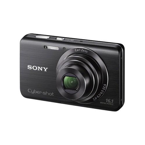 "Sony DSC-W650 16MP Digital Camera w/ 5x Optical Zoom, 3"" LCD Display, HD Video, Face Detection"