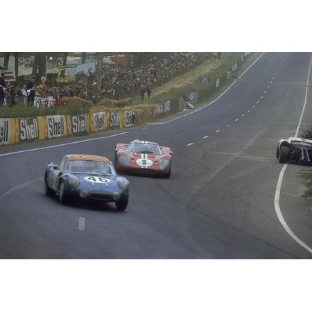 Le Mans 24 Hour Race, France, 1967 Print Wall Art