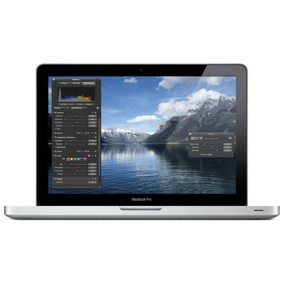 "Refurbished Apple MacBook Pro 13.3"" Laptop Intel Core 2 Duo 2.4GHz 4GB 250GB GeForce 320M"