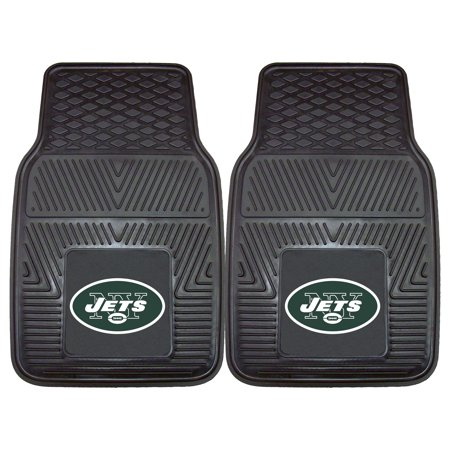 New York Jets 2-pc Vinyl Car Mats 17