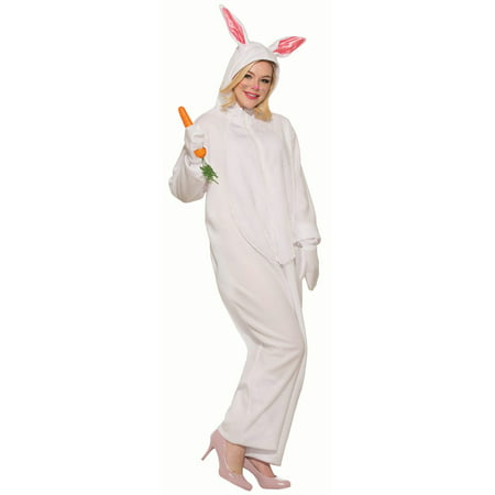 Bunny Rabbit Adult Costume (Fluffy Bunny Halloween Costume)